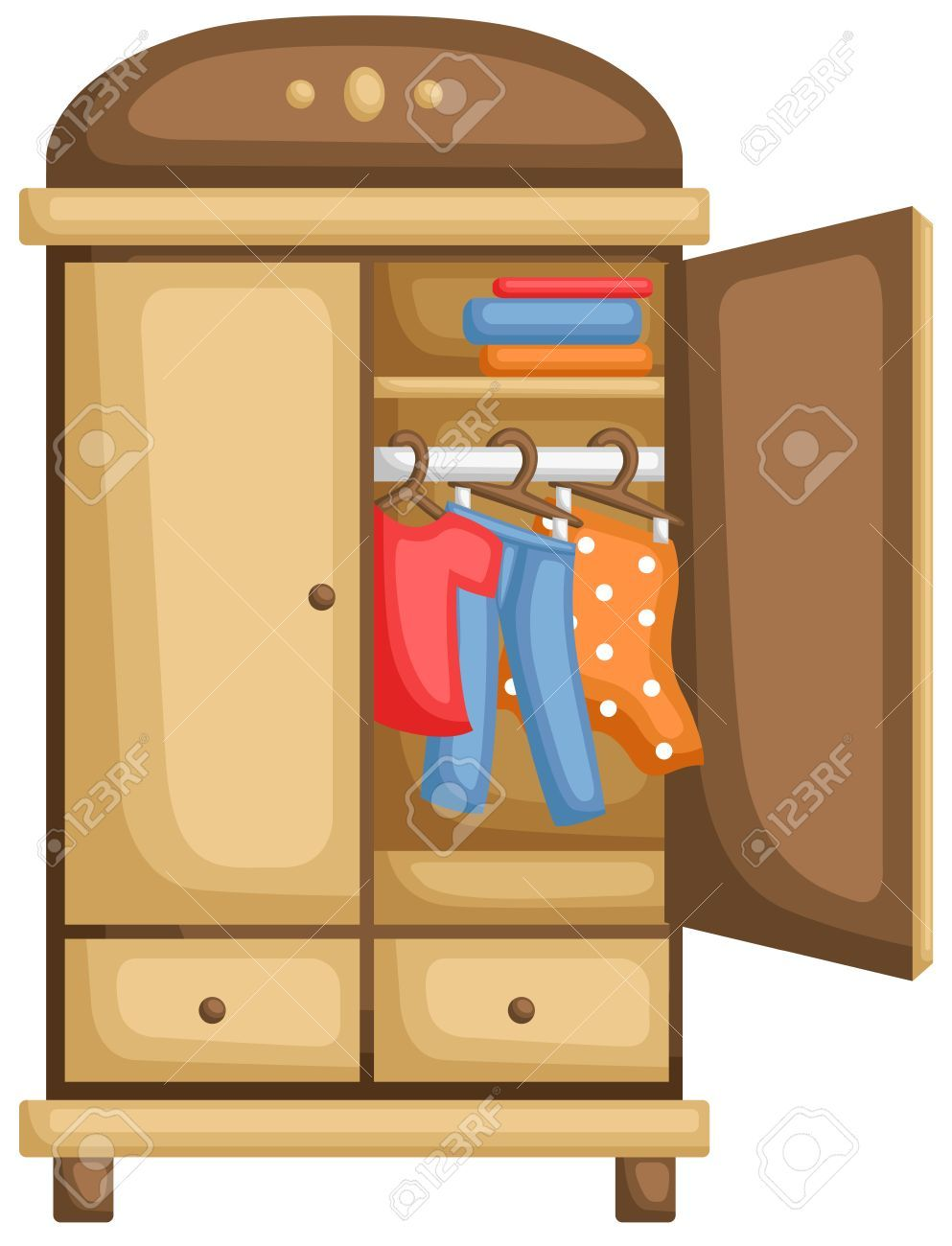 Clothes cupboard clipart 3 » Clipart Portal.