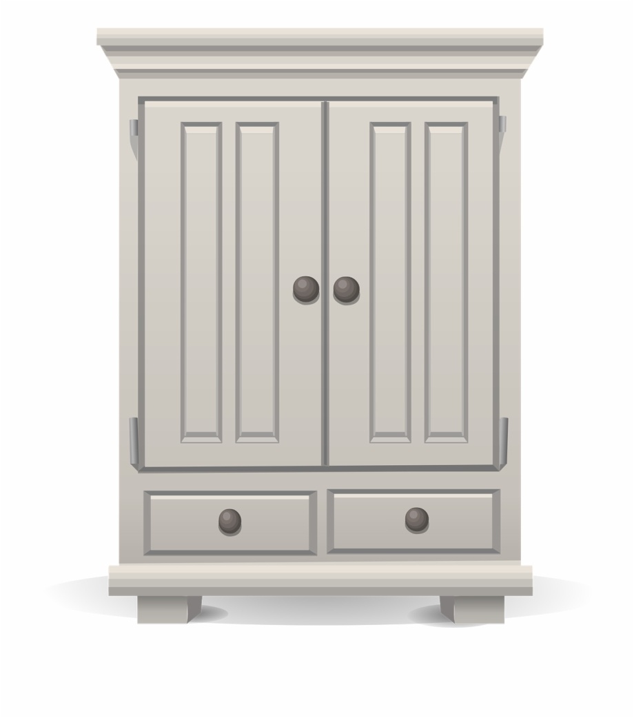 Cupboard Cabinet Clip Art Free PNG Images & Clipart Download.