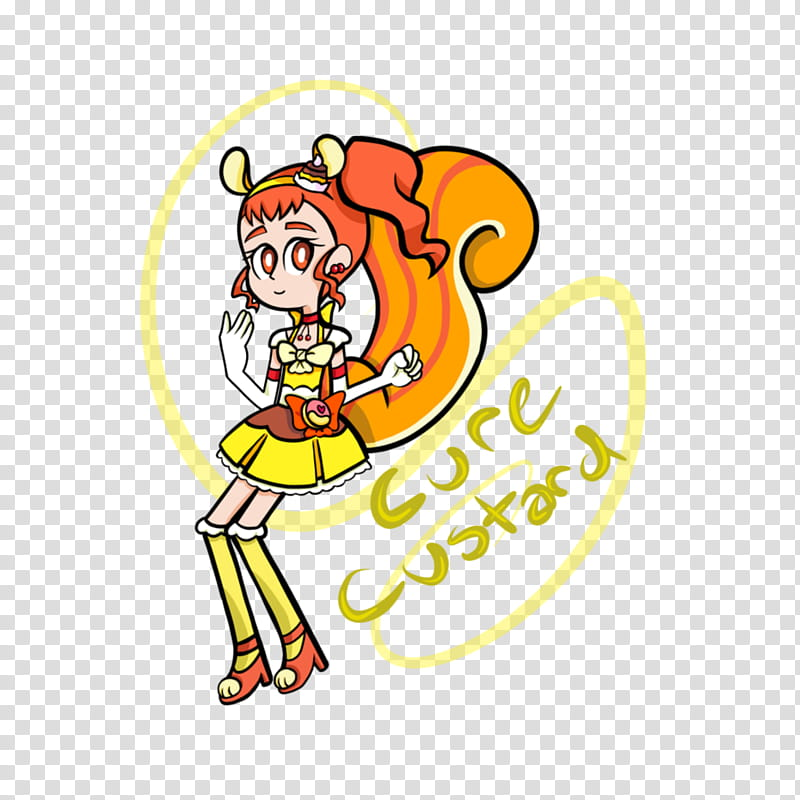 Cure Custard From KiraKira Precure a la mode transparent.