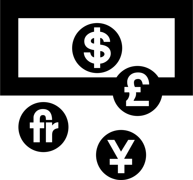 Free Clipart: Aiga currency exchange.