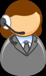 Customer Service Rep Clip Art at Clker.com.