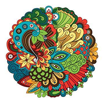 Amazon.com: Frankies Cajun Customs Peacock Mandala Vinyl.
