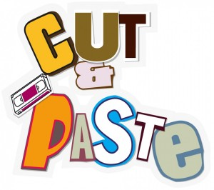 Cut And Glue Clipart.