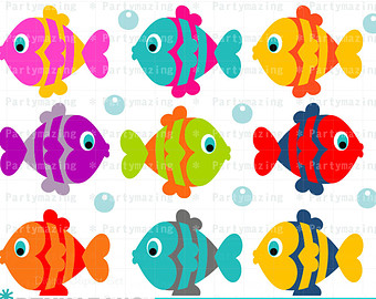 60+ Cute Fish Clip Art.