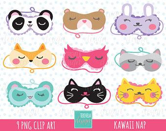 Cute sleep mask.