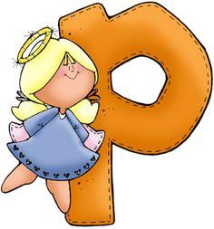Clipart Cute Letter P.