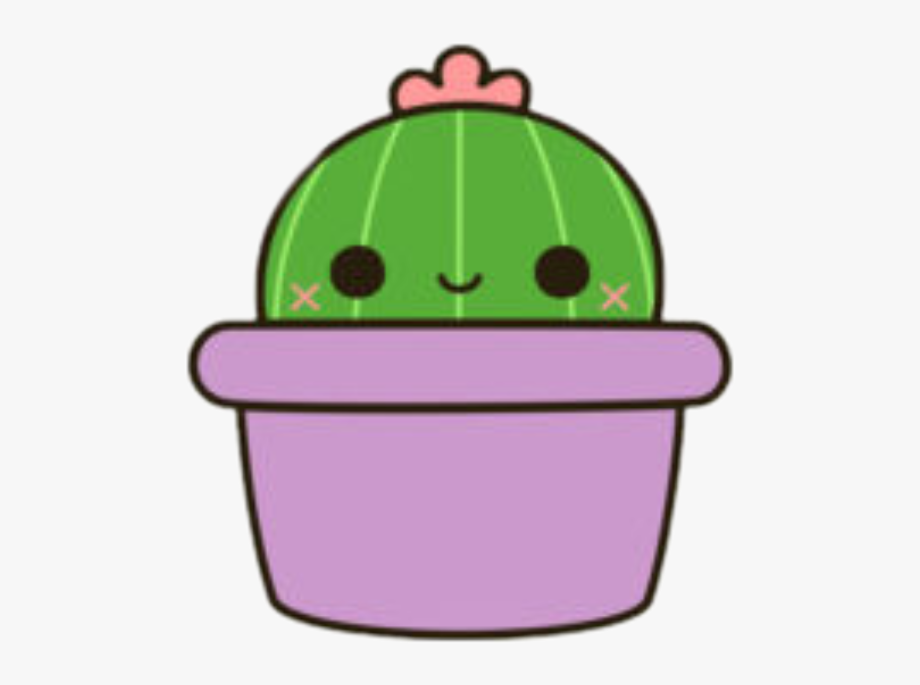 Free Download Cute Stickers Cactus Clipart Cactus Drawing.