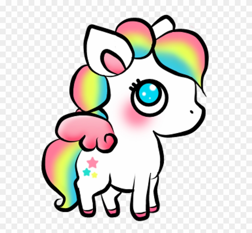 cute #unicorn #colorful #sticker #remixit #babyunicorn.