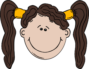 Girl Face Cartoon Clip Art at Clker.com.