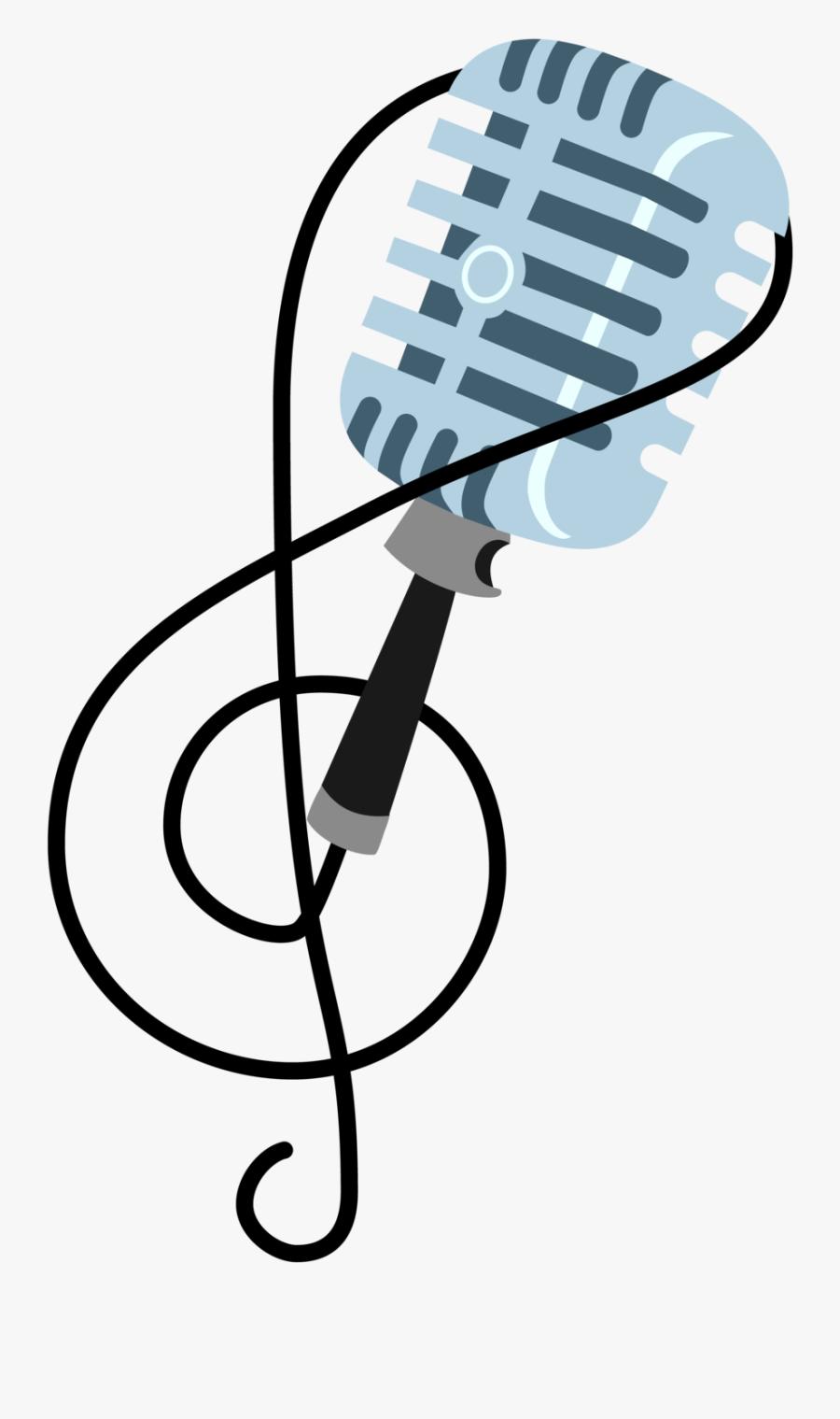 Microphone Clipart Cutie Mark.