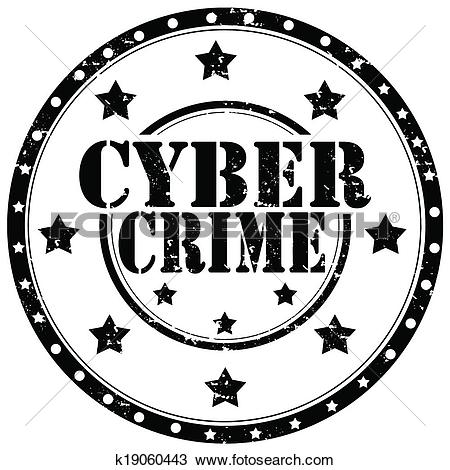 Clipart of Cyber Crime.