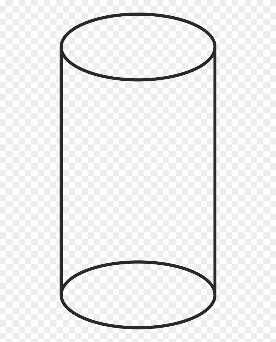 Volume Cilinder Vector.