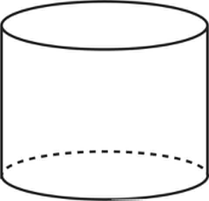 Clipart Cylinder Shape.