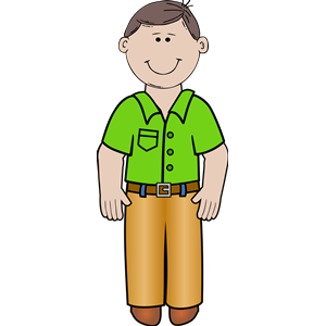 daddy standing 02 clipart, cliparts of daddy standing 02.