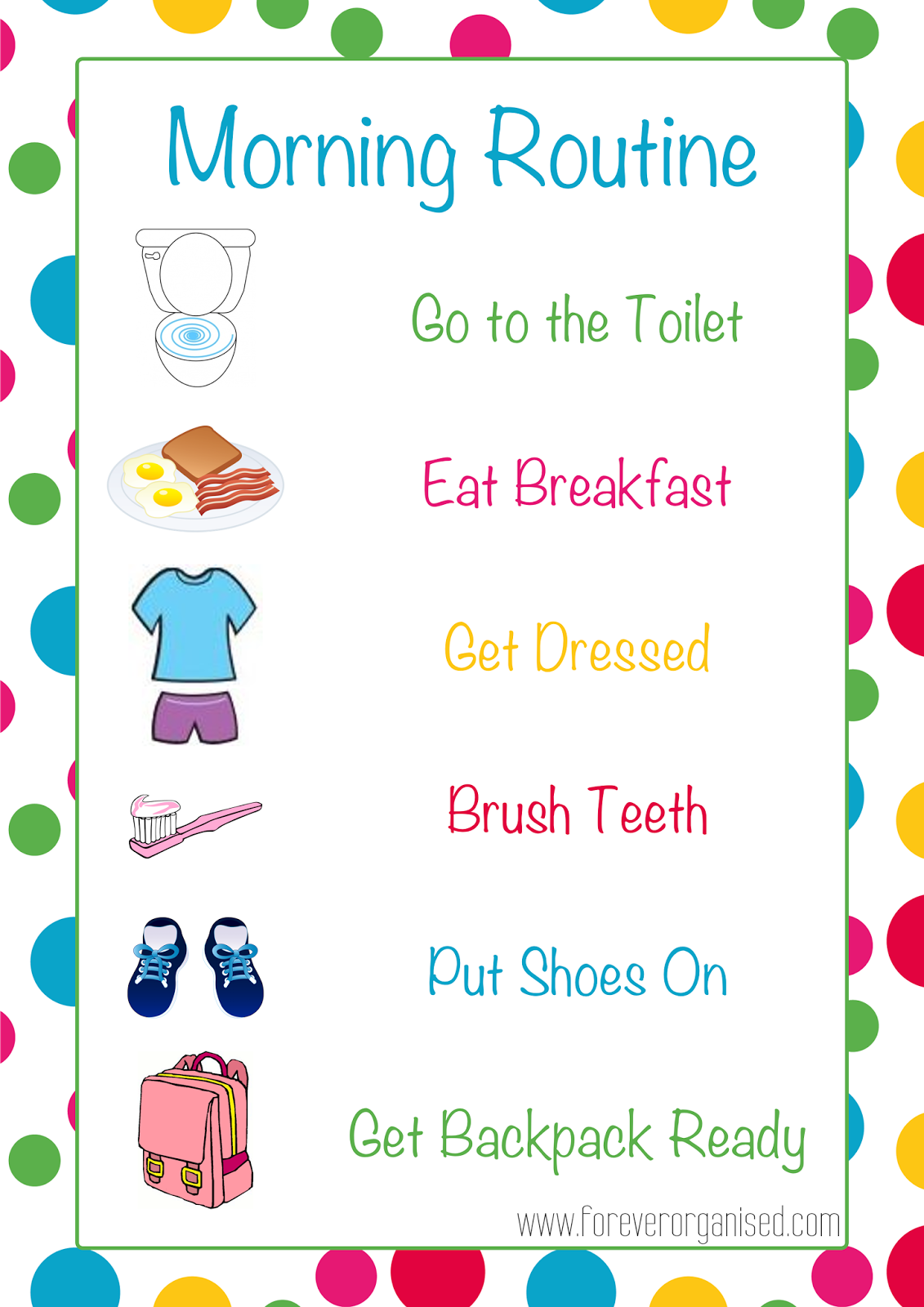 Free Morning Routine, Download Free Clip Art, Free Clip Art on.
