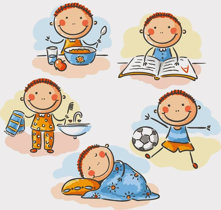 Daily routine clipart 7 » Clipart Station.