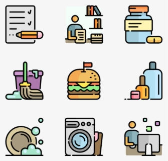 Free Daily Routine Clip Art with No Background.