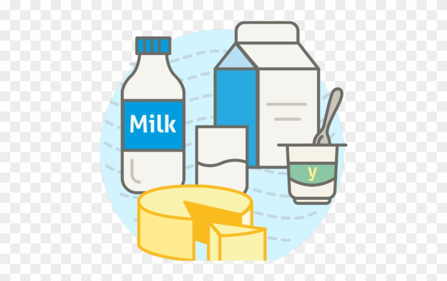 Products Clipart Milk Yogurt Cheese.