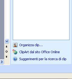 Appunti per il Gruppo Computer: Approfittiamo delle ClipArt.