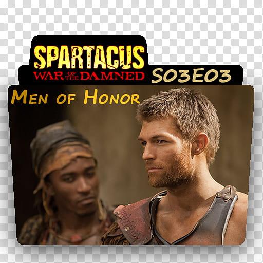 Spartacus War of the Damned, se transparent background PNG.