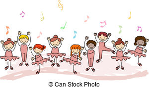 Dance class Illustrations and Clip Art. 741 Dance class royalty.