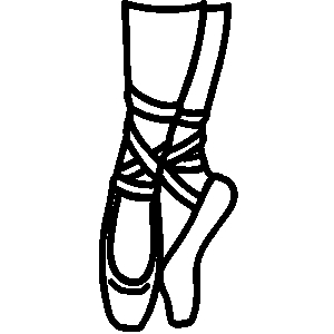Clipart Of Dance Shoes.