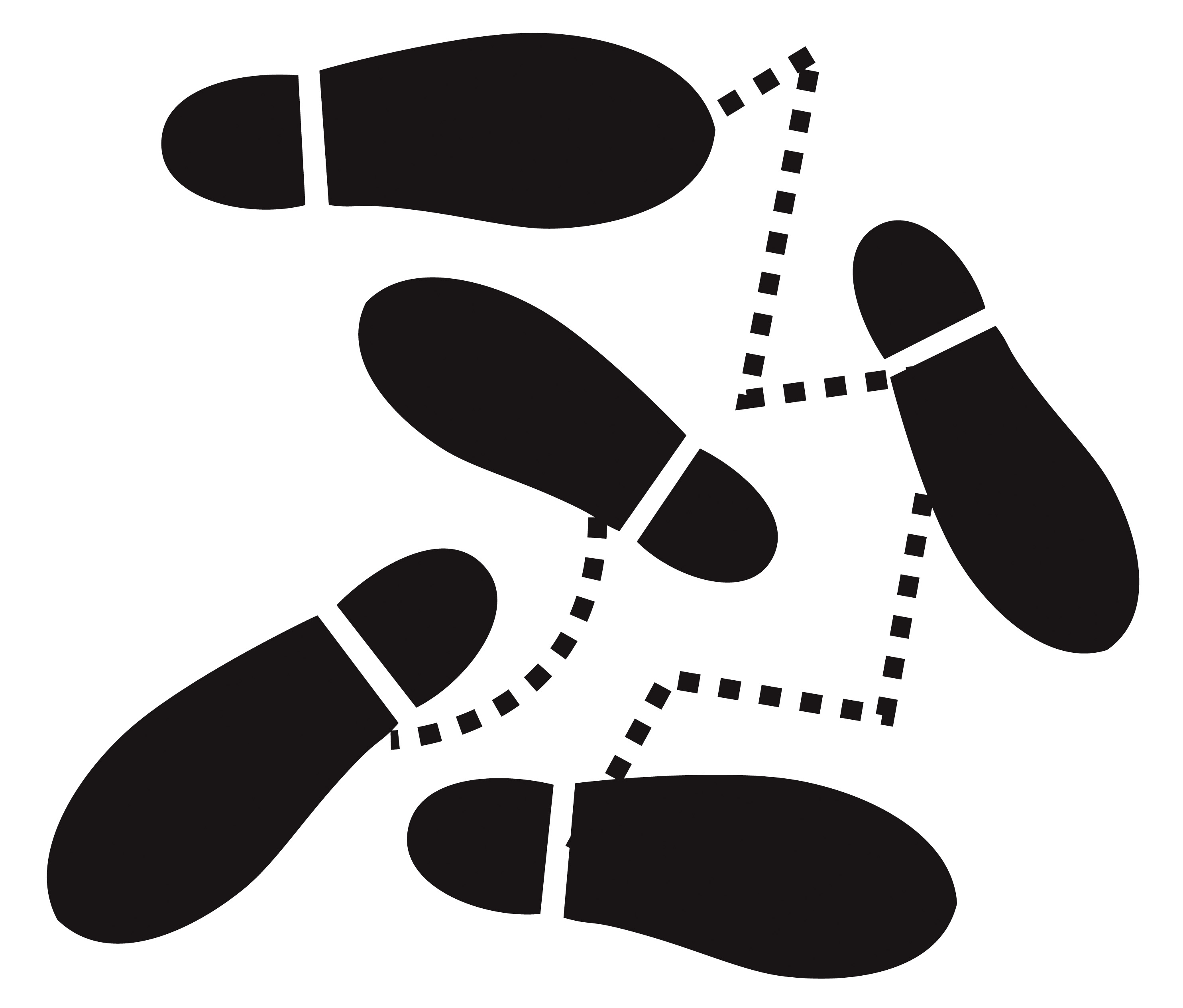 Clipart Dancing Feet.