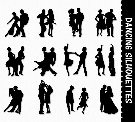 Dancers Clip Art Graphics Dancing People Clipart by GraphicsSupply.