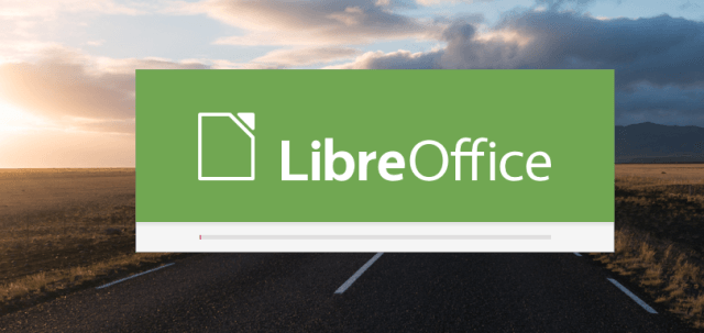 If we go to LibreOffice 5 on Raspbian Jessie PIXEL.