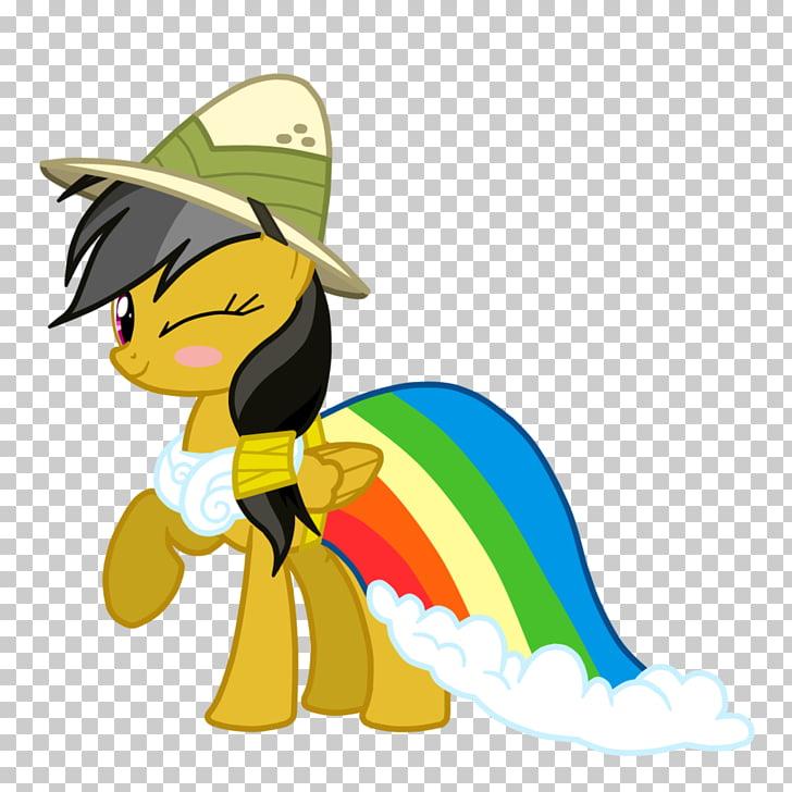 Horse Rainbow Dash , daring PNG clipart.