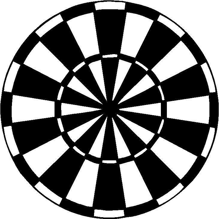 Dartboard Vector at GetDrawings.com.