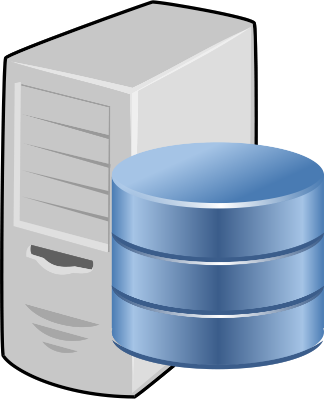 Free Clipart: Database server.