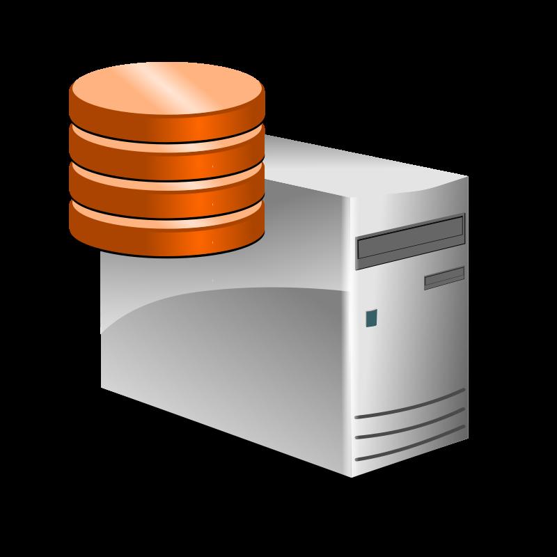 Free Clipart: DB Server.