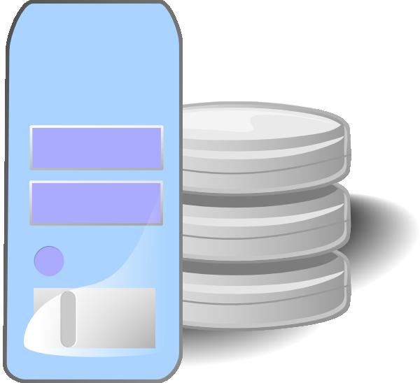 Server Database Clip Art at Clker.com.