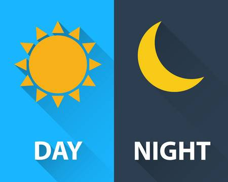42,590 Day Night Cliparts, Stock Vector And Royalty Free Day Night.