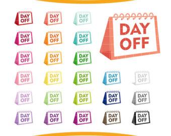 Calendar clip art.