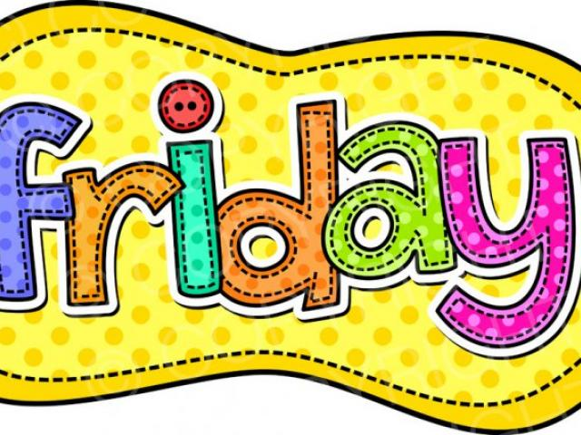 Days Of The Week Clipart 6.