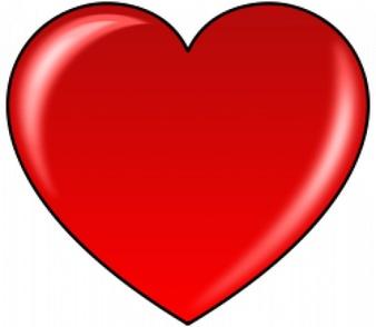 clipart de corazones #1