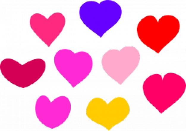clipart de corazones #11