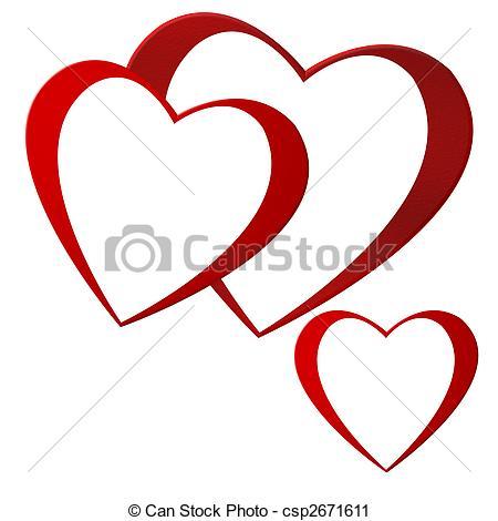 clipart de corazones #17