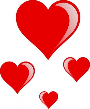 clipart de corazones #4