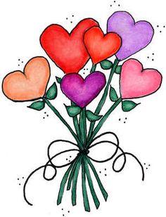 clipart de corazones #9