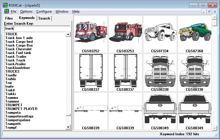 ROMCat Clip Art Utility.
