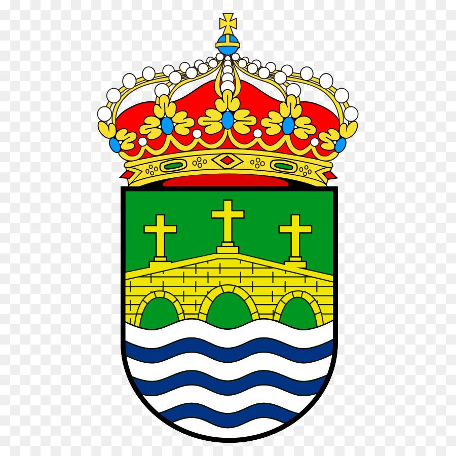 Vila de Cruces Tui Ponte Caldelas Coat of arms Escutcheon.