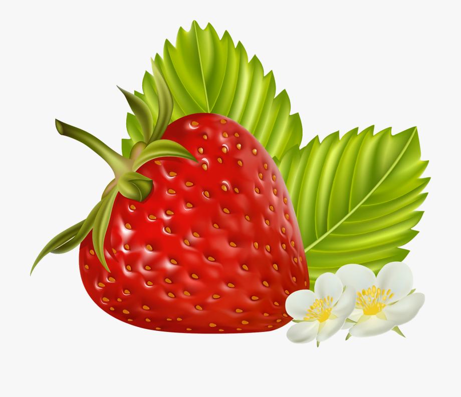 Strawberry Fruit Clip Art.