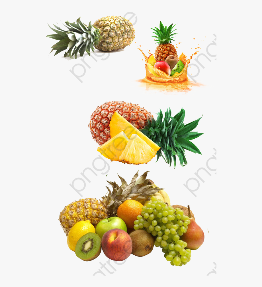 Tropical Clipart Pineapple.