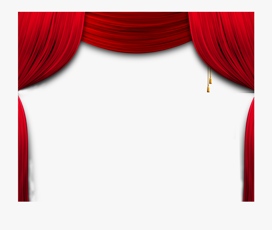 Curtain Stage Transparent & Png Clipart Free Download.