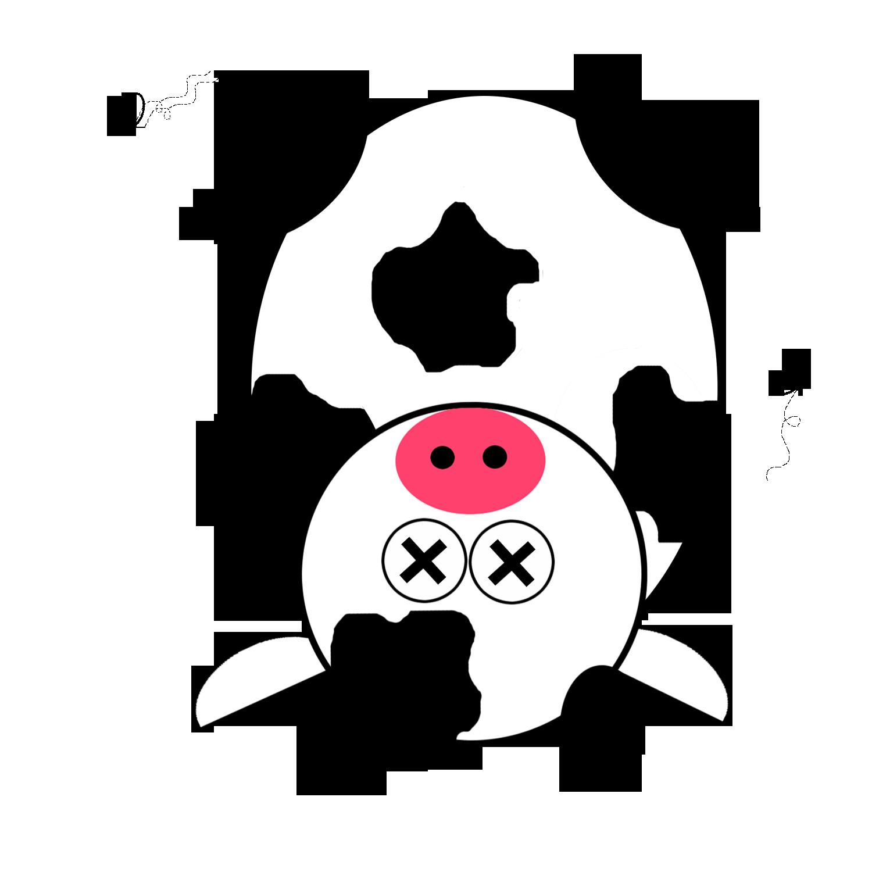 Dead Cow Clipart.