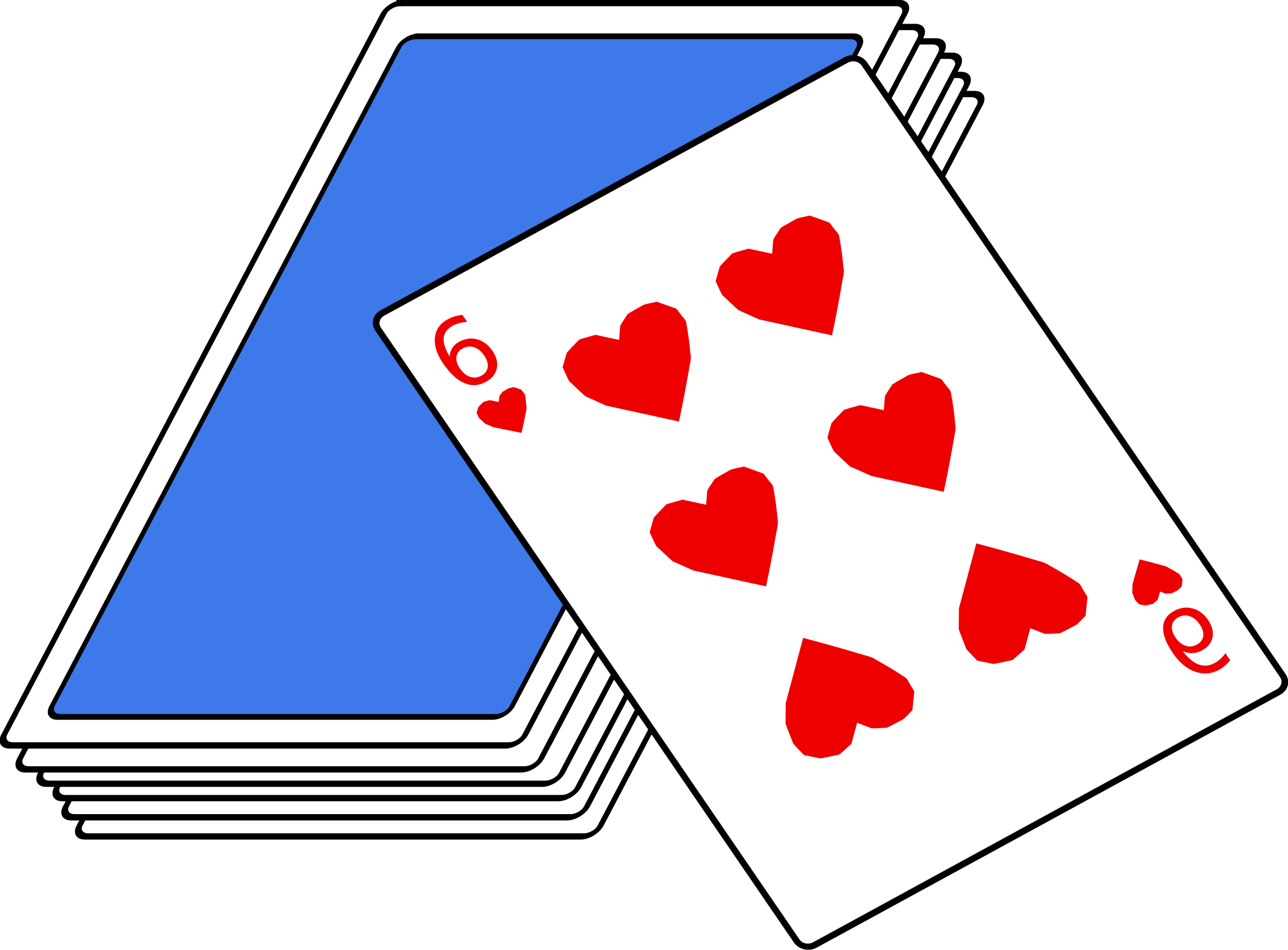 Clipart deck of cards 4 » Clipart Station.