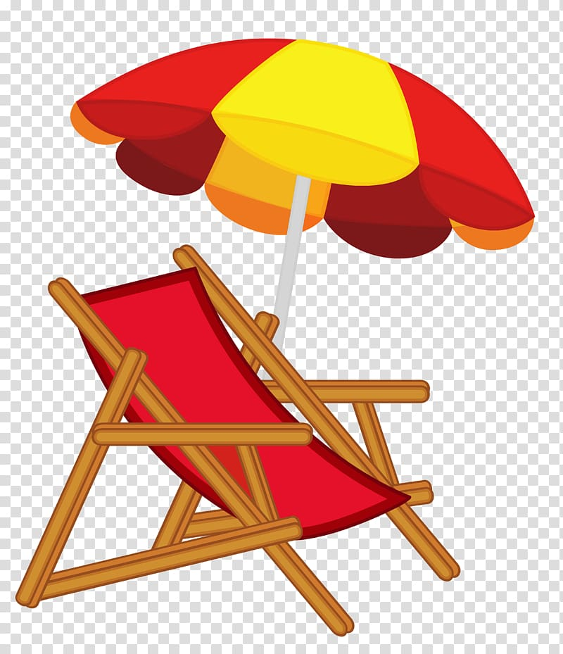 Eames Lounge Chair Beach , Umbrella Chair transparent.
